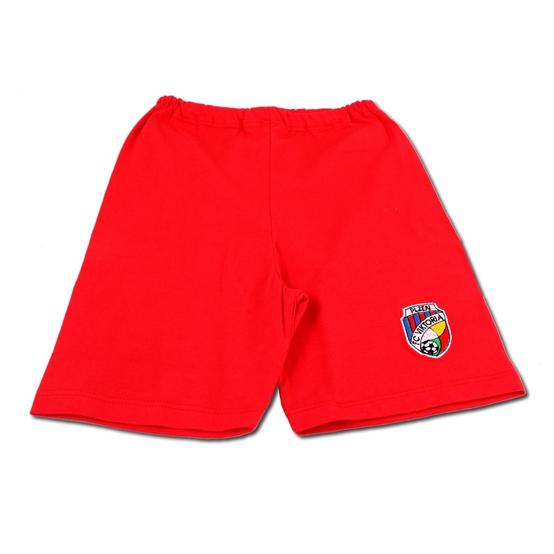 a902914149c Kraťasy dětské - červené (pro batolata až předškoláky)